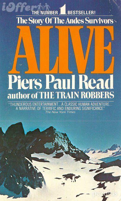 Piers Paul Read Alive 1974 Books Survivor Reading