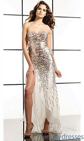 Long Sequin Prom Dress by Terani at SimplyDresses.com | FASHION ...