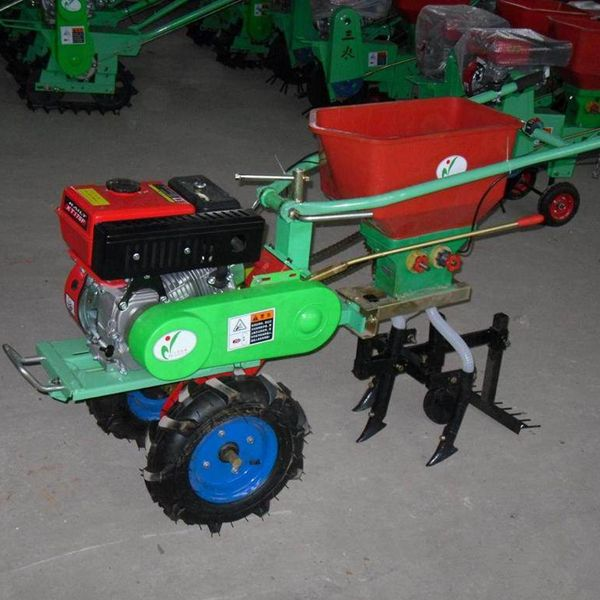 Single Row Hand Push Fertilizer Planter Advantages 1 This Seed
