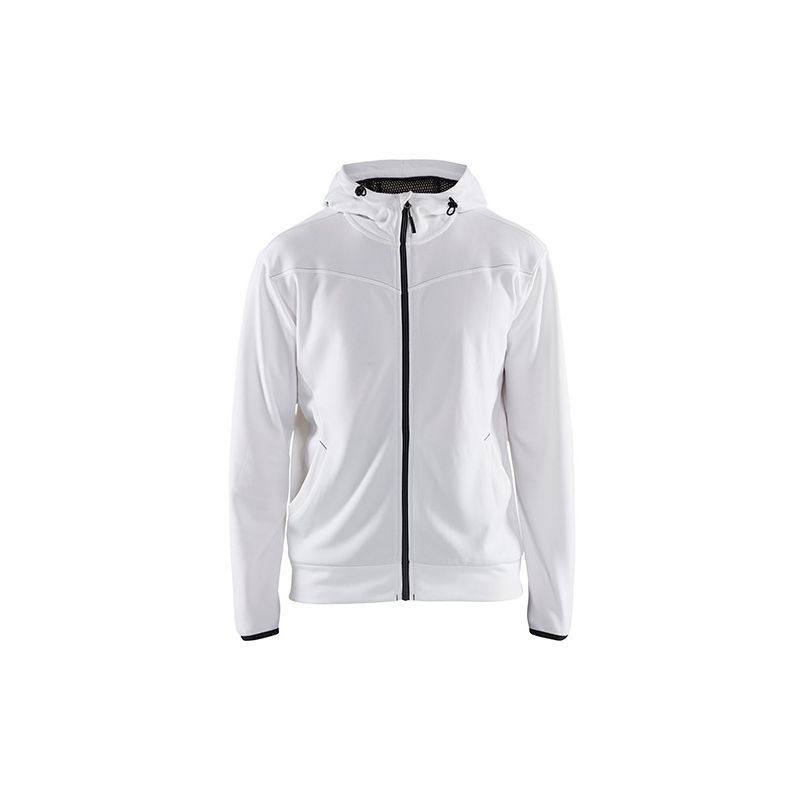 Sweat zippé Blaklader à capuche | XL BlancGris | Nike