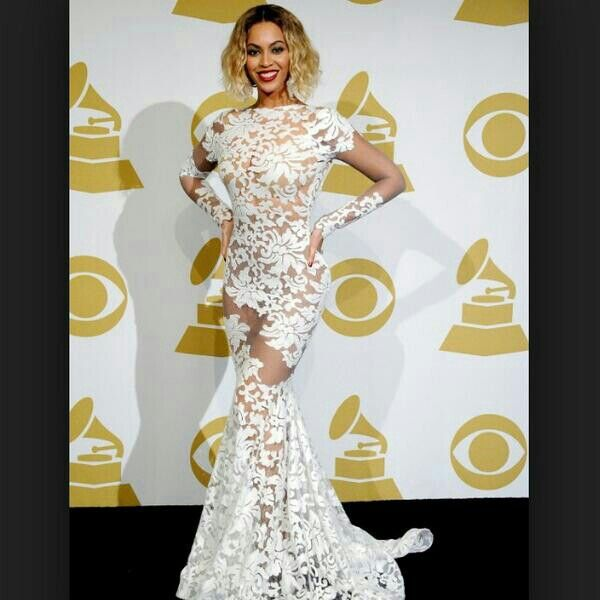 Every Body Prom Dress Woke Up Like Dis 2014 Grammy Dresses Beyonce Dress Beyonce Grammy Dress