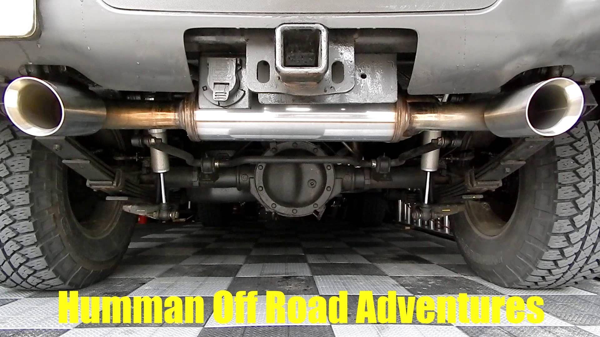 MAGNAFLOW Performance Exhaust System Sound on Hummer H3 Adventure