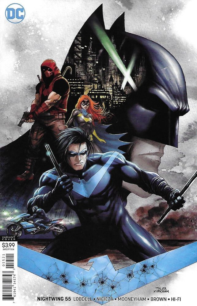 DC Comics NIGHTWING #39 first printing cover A