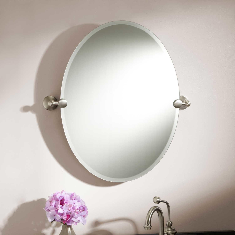 24 Seattle Oval Tilting Mirror