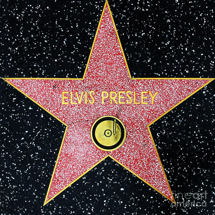 Hollywood Walk Of Fame Elvis Presley 5d28923 By Wingsdomain Art And Photography Hollywood Walk Of Fame Walk Of Fame Elvis Presley