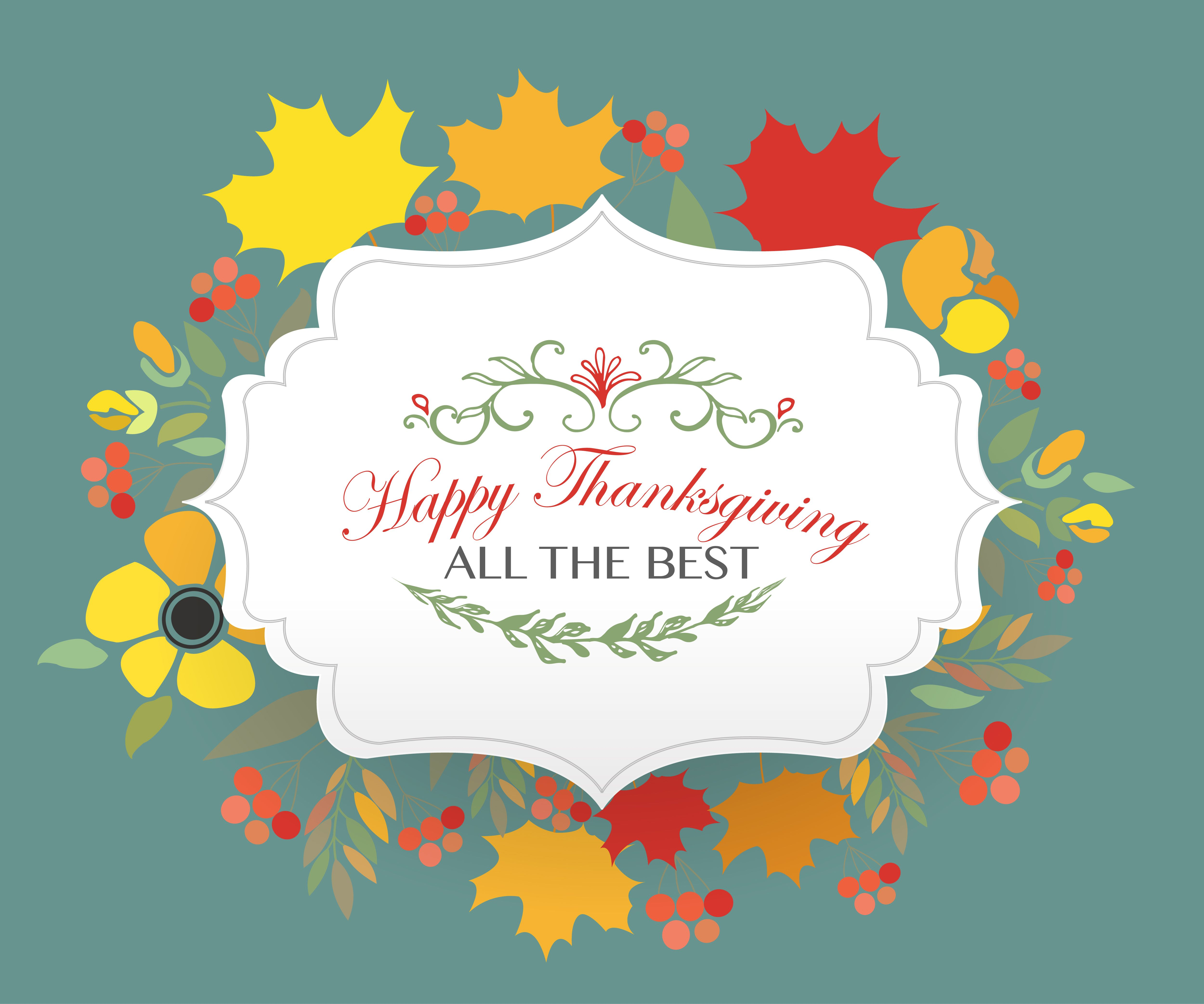Happy Thanksgiving Card Template Pinterest Card Templates And - Thanksgiving card template