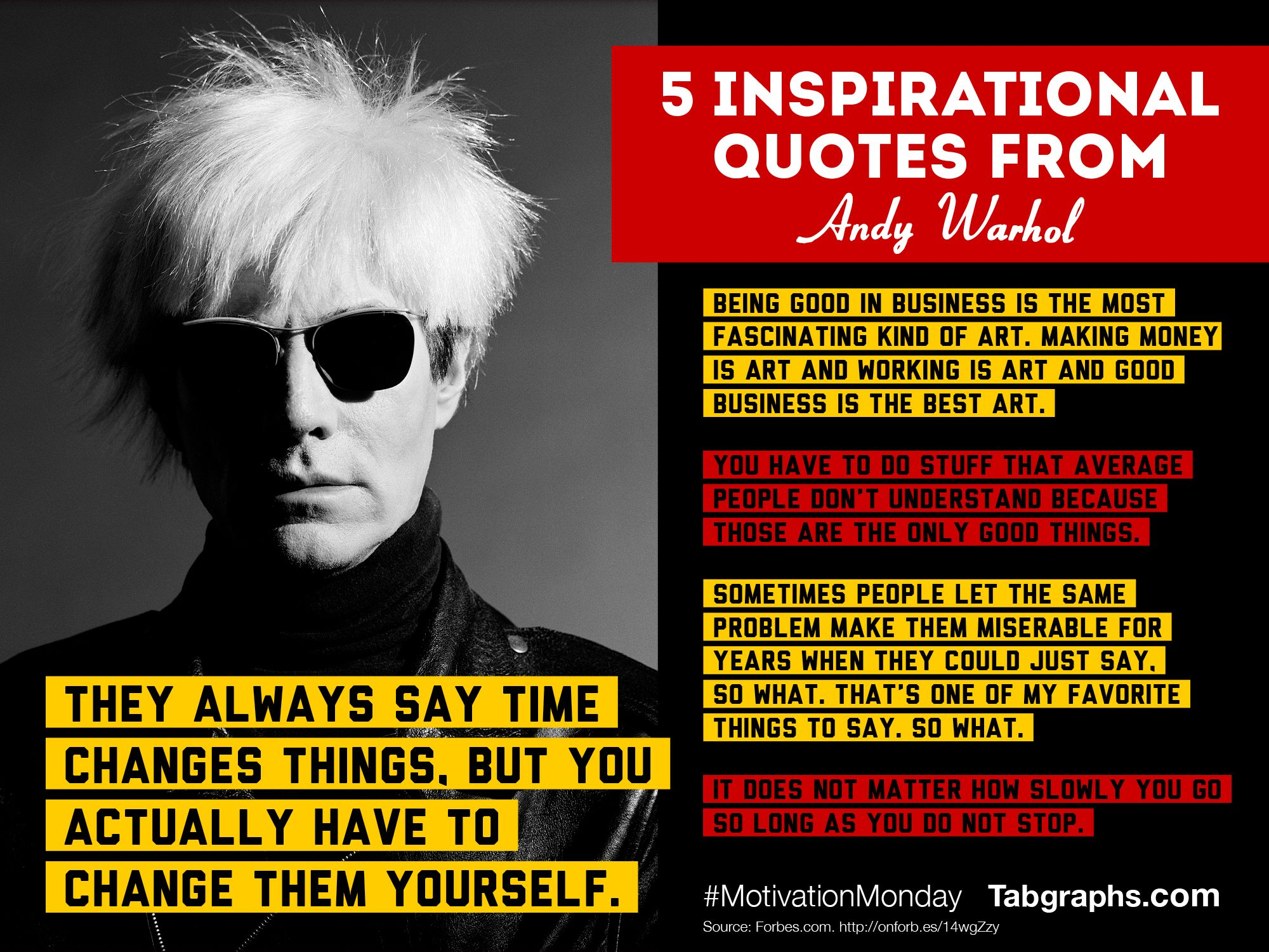 Andy Warhol Quotes Inspirational quotes, Andy warhol