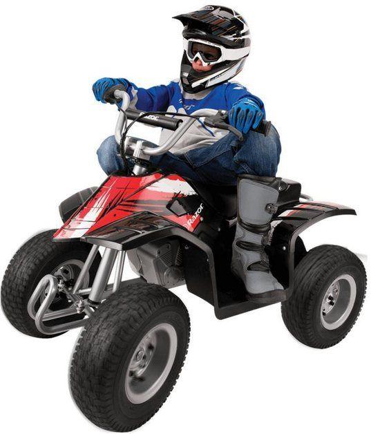 Razor Elektromobil Dirt Quad Elektro Quad 13 Km H Online Kaufen Elektro Fahrerlaubnis Quad