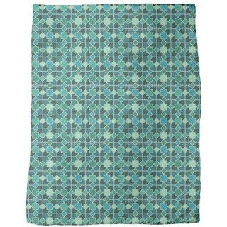 Shop for Morocco Teal Fleece Blanket. Get free shipping at Overstock.com - Your Online Blankets