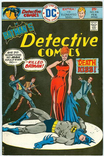 Detective Comics 456 FNVF Chan Schaffenberger Batman Elongated Man Super Bright…