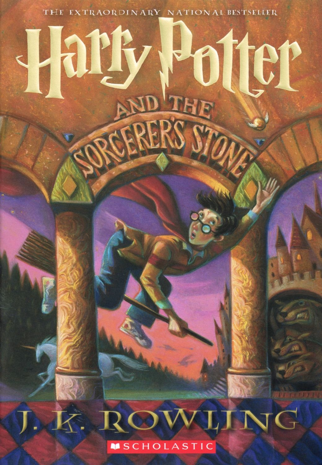 Roman Harry Potter and the Philosopher's Stone turned 20 years old 06/26/2017 38