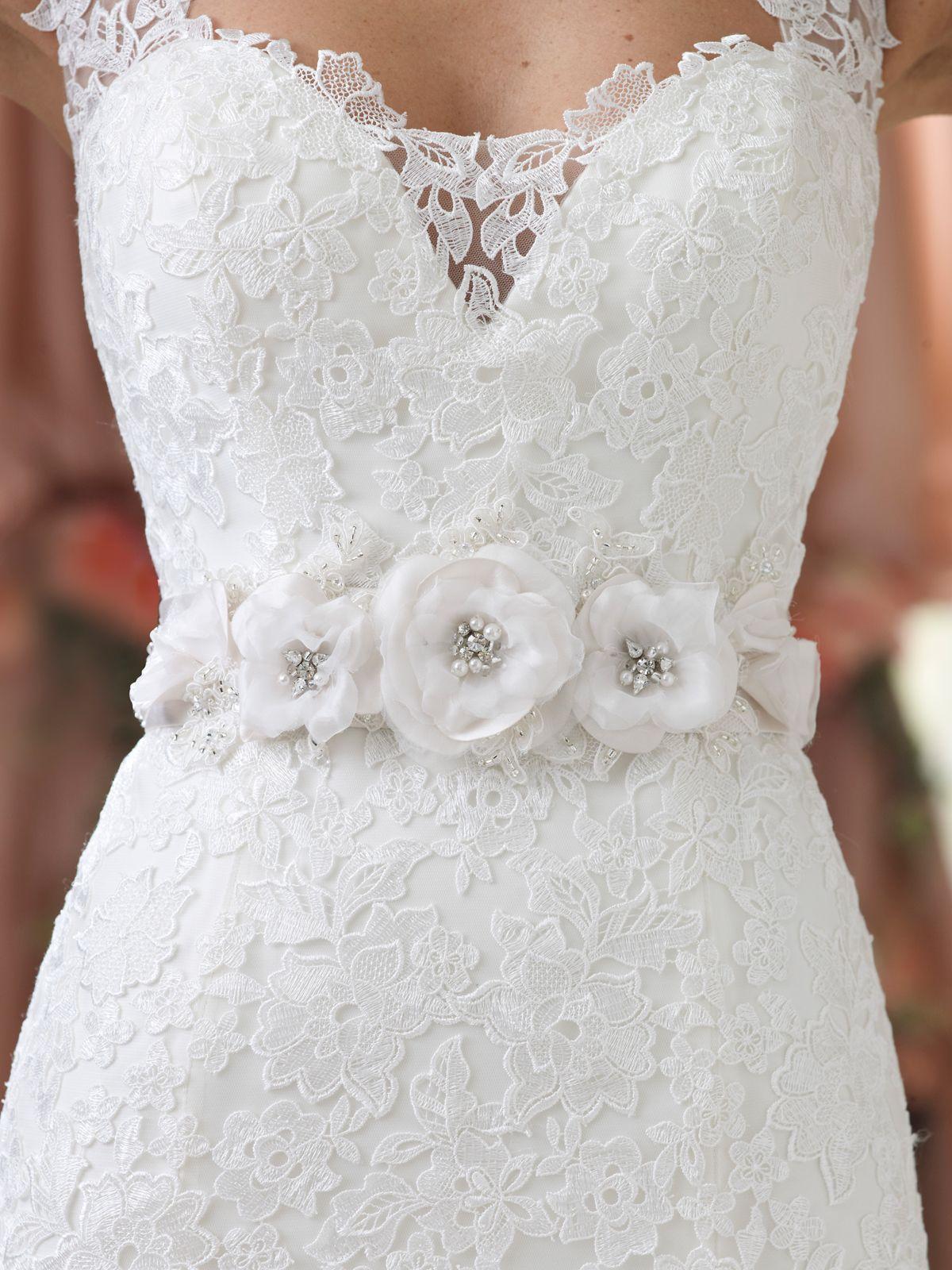 Style no belt david tutera for mon cheri wedding dresses