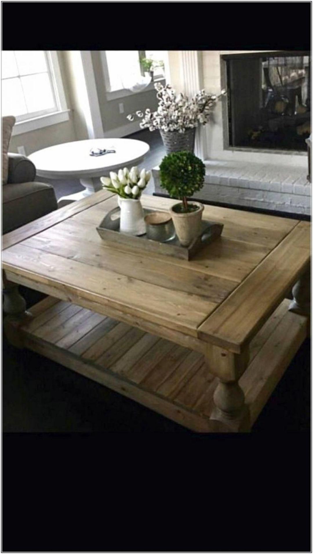 - Inspiring 25 Beautiful Farmhouse Coffee Table Design For Living