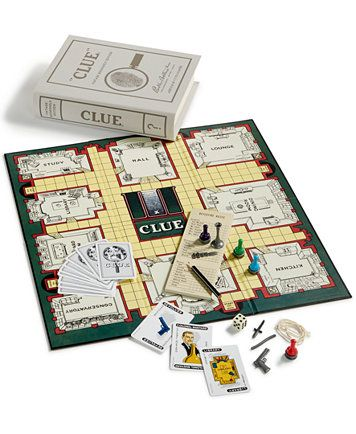 Winning Solutions Clue Vintage Bookshelf Edition Board Game