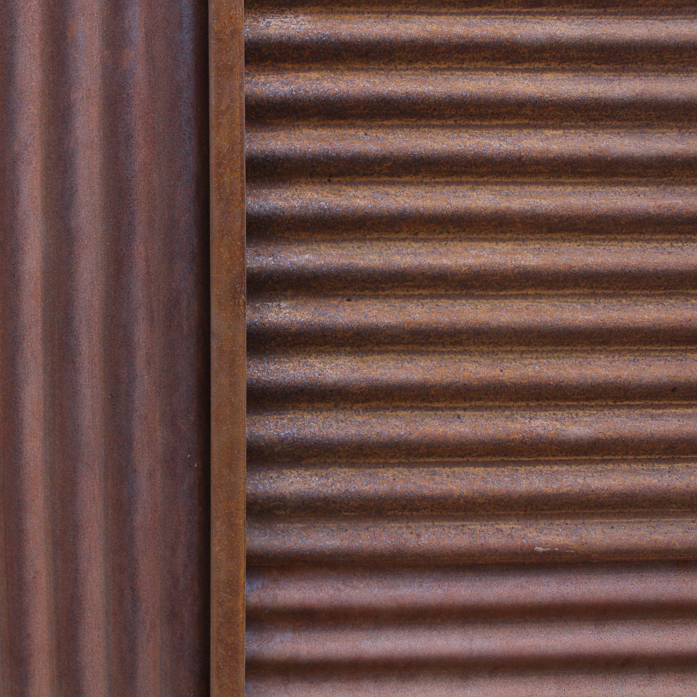 Chippy S Outdoor Stocks The Z Tina Mini Orb Corrugated Rust Metal Sheets These Are A Fantastic Rustic Addition To Any Hom Metal Panels Metal Screen Iron Sheet