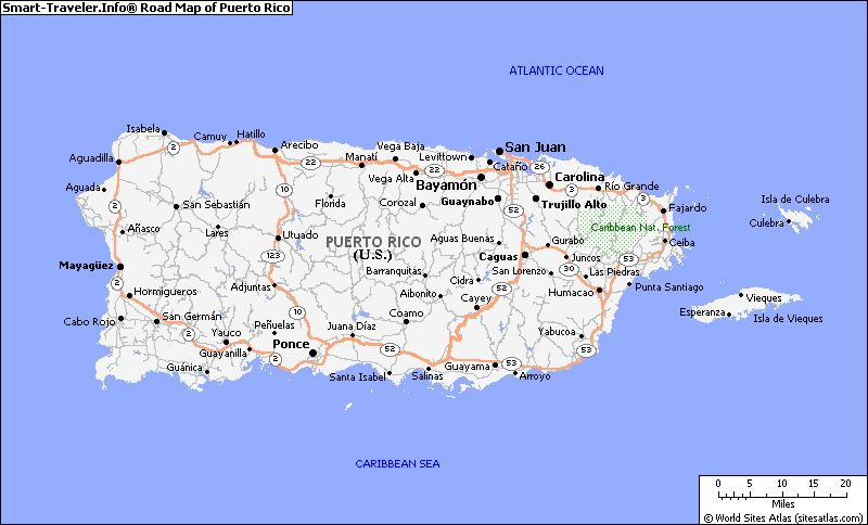 puerto rico detailed map Map Of Puerto Rico Cities Map Of Puerto Rico With Cities puerto rico detailed map