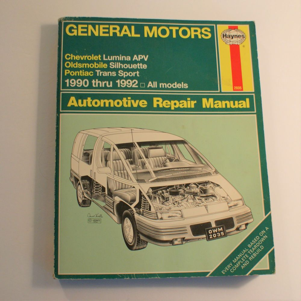 details about gm haynes repair manual chevy lumina apv olds rh pinterest com Haynes Repair Manuals Mazda Haynes Repair Manual Online View
