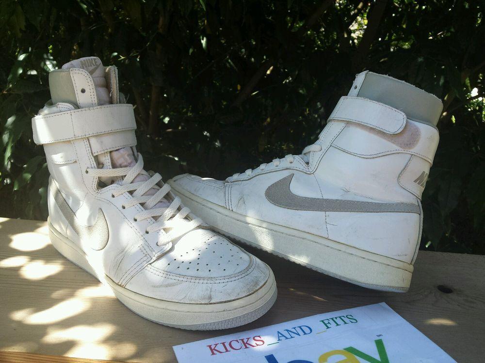 57445cf22e040 VTG OG 1984 85 Nike Double Team High Basketball Shoes 11 jordan air SUPER  RARE 1  Nike  BasketballShoes