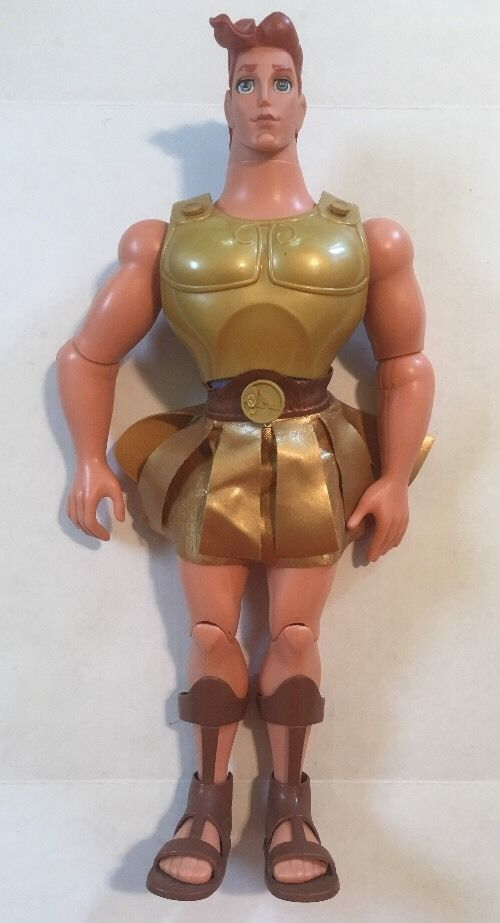 Toys For Hercules : Disney mattel toy hercules golden glow quot male doll