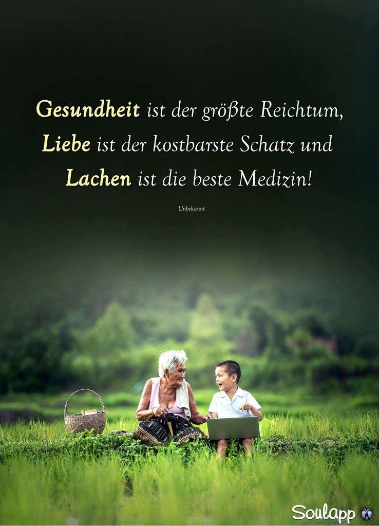 Gesundheit Reichtum Liebe Kostbare Schatz Lachen Beste