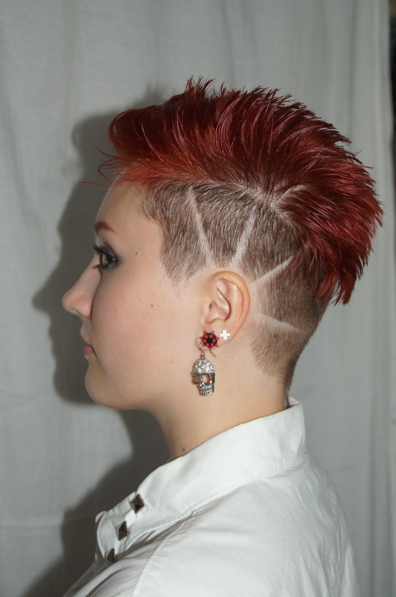 short haircut | short hairstyles | short punk hair, hair