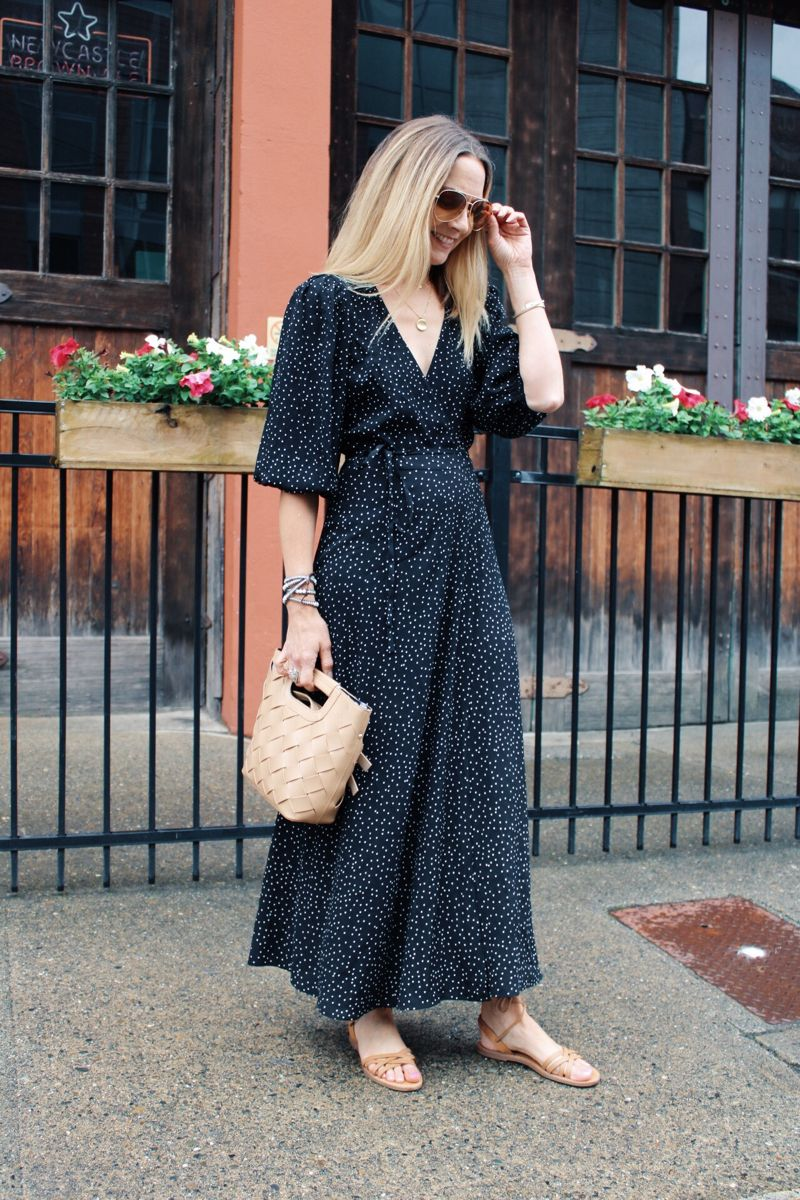 Styling A Midi Dress For Summer Lastseenwearing Simple Summer Outfits Summer Dresses Dresses [ 1200 x 800 Pixel ]