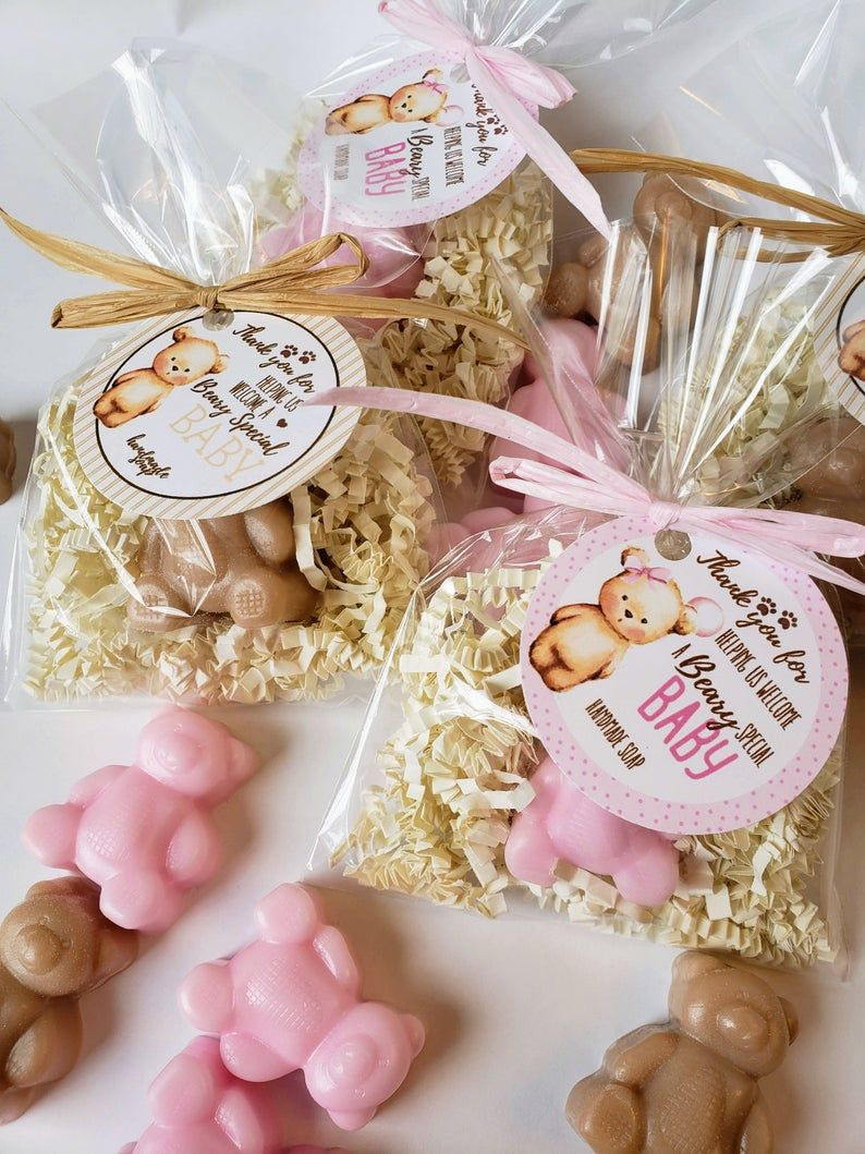 20 Teddy Bear Soap Baby Shower Favors Beary Special Baby