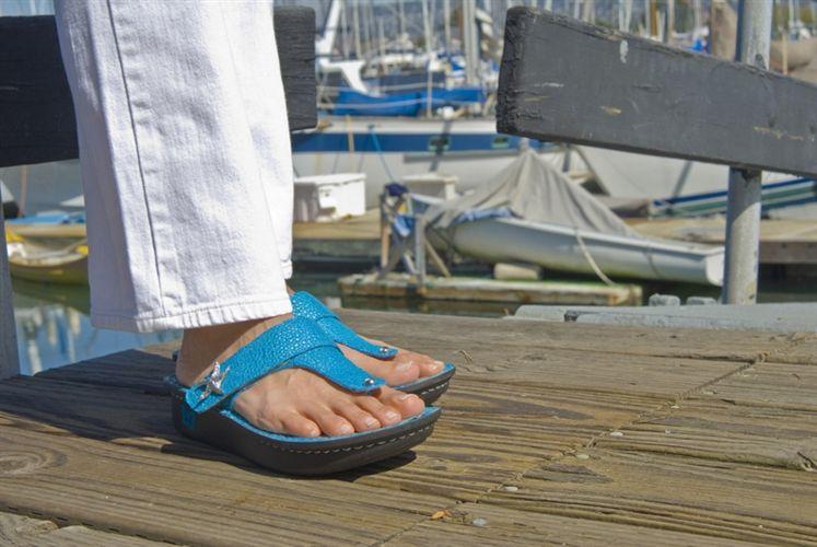 0081990fe4e Alegria Carina Turquoise Starfish - Closeout for  59!