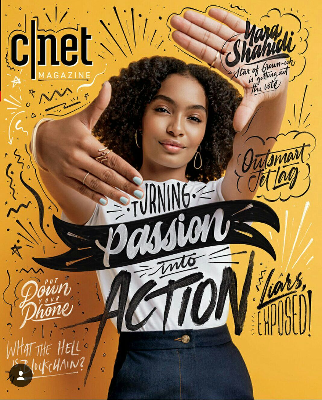 Cover Cnet Magazine Cover Layout Magazine With Images Fashion Magazine Layout Magazine Layout Inspiration Graphic Design Posters