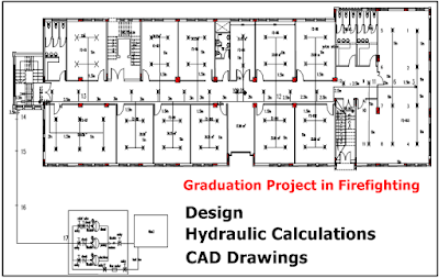 Graduation Project In Firefighting Drawings Graduation Project Firefighter Fire Sprinkler System