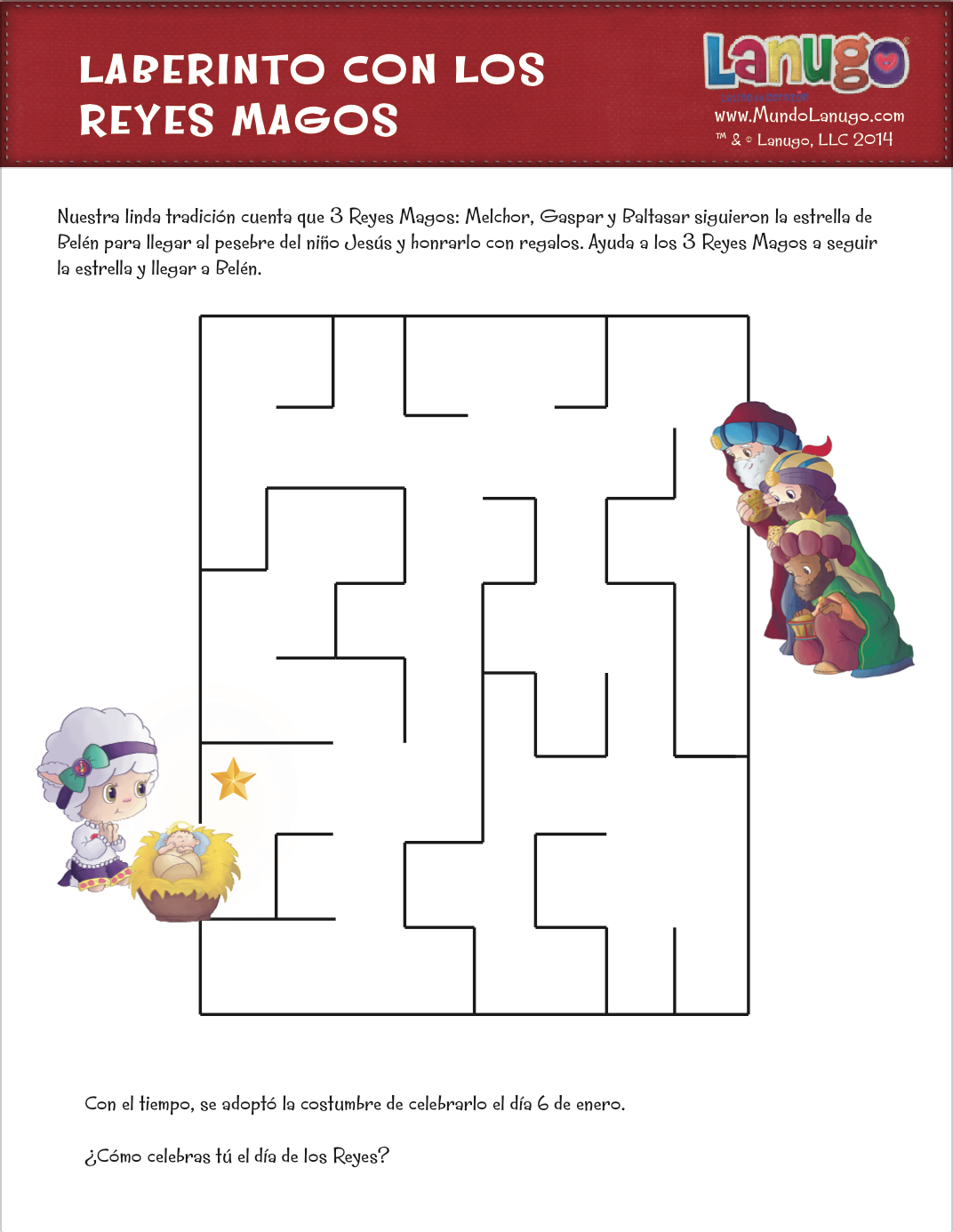 Free Printable Labyrinth Maze Game For Kids To Celebrate