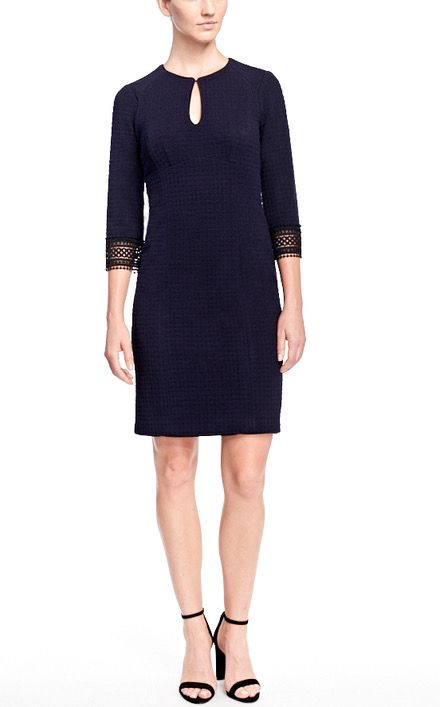 Nanette Lepore Dress with details in sleeve