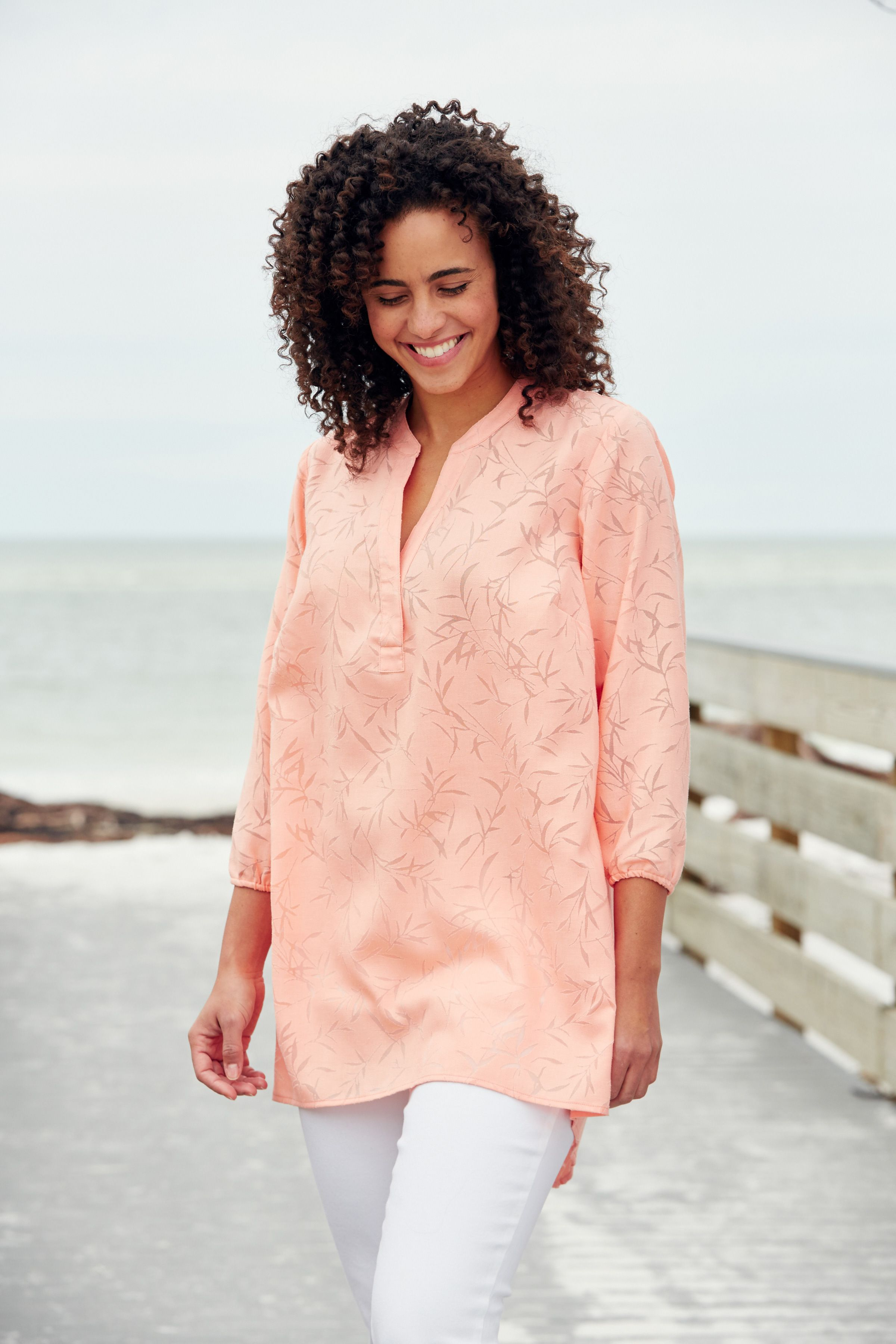 Light linen for hot summer days shore thing plus size fashion from