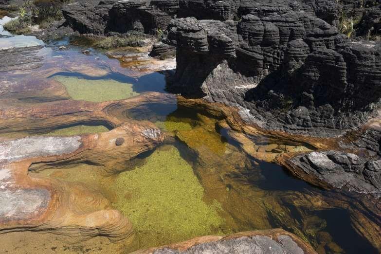 O Monte Roraima é um incrível local praticamente inexplorado no Brasil, que guarda paisagens incríve... - Reprodução