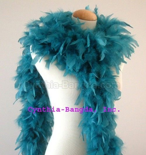 Purple shade 65 Grams Chandelle Feather Boa  Dance  Party Halloween Costume