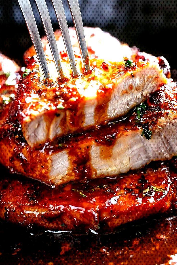 Easy Honey Garlic Pork Chops Recipe Easy Honey Garlic Pork Chops Recipe Easy Honey Garlic Pork Chop