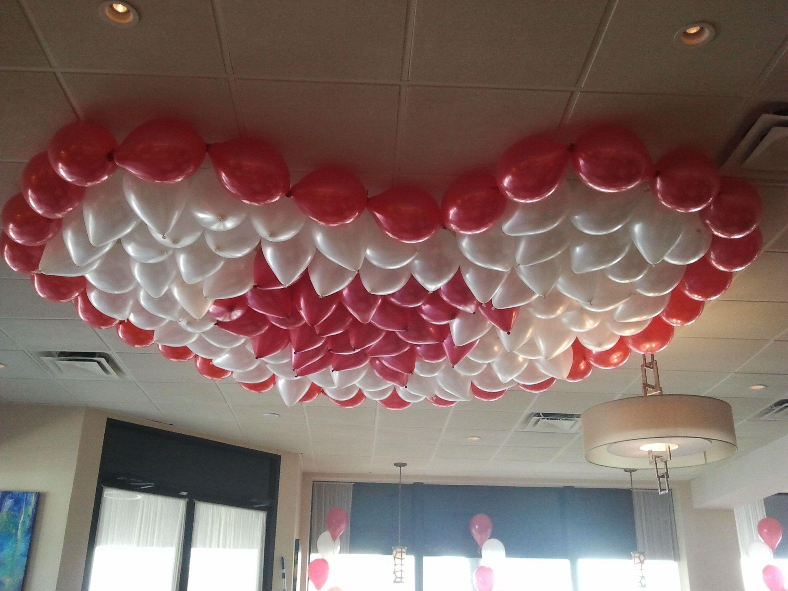 Boca Raton Balloon Event Decorating Ceiling Balloon Art Palm