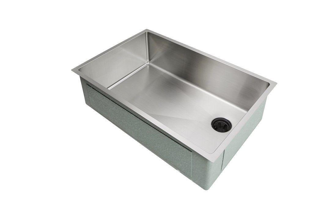 28 Sink Single Bowl Offset Drain Right 8 Depth 5s28r 8 Undermount Kitchen Sinks Sink Kitchen Sink
