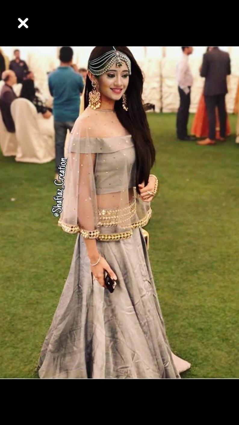 Indian Pakistani Designer Heavy Lehenga Choli Crop Top Skirt Etsy Fashion Lehenga Blouse Designs Indian Gowns Dresses