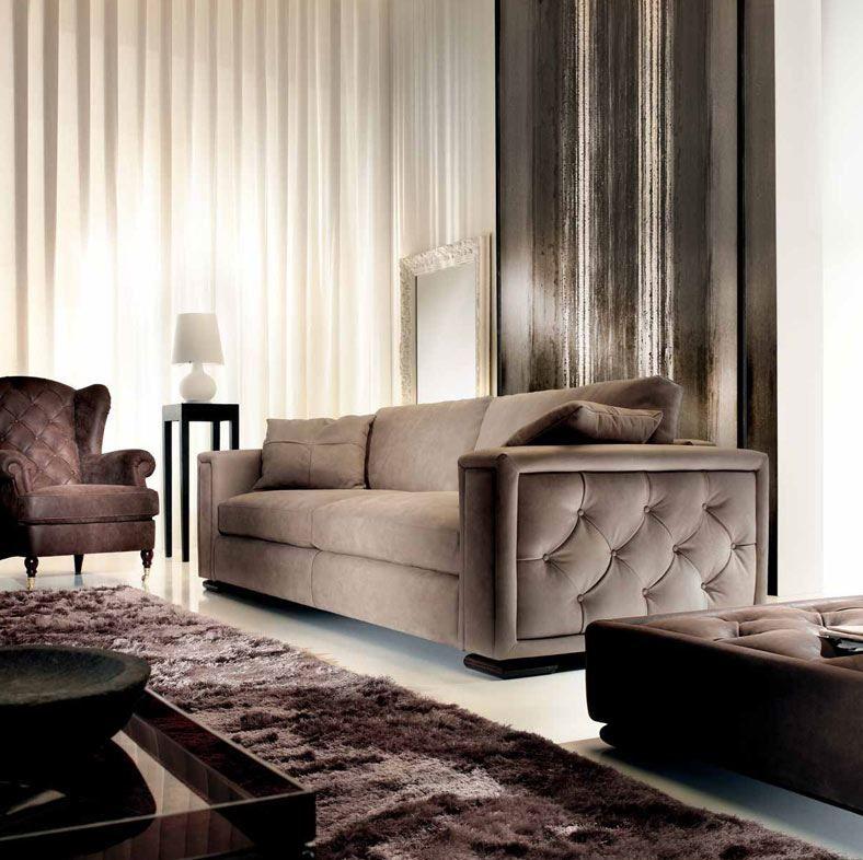 Divano con fianco trapuntato sofa in 2019 sofa styling for Divano trapuntato