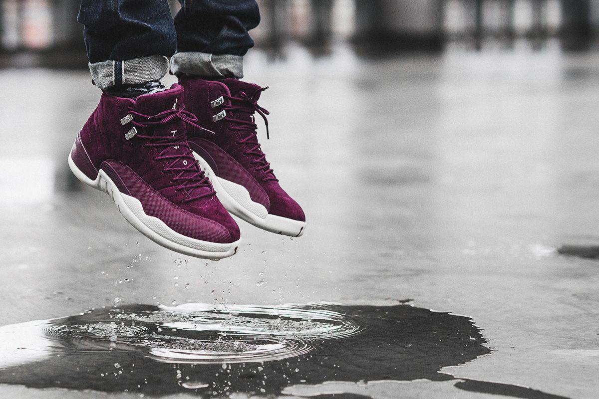 huge discount d37ca 6c57b On-Foot  Air Jordan 12 Bordeaux - EU Kicks  Sneaker Magazine