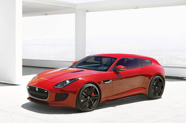 Jaguar lets word slip of an f type shooting brake