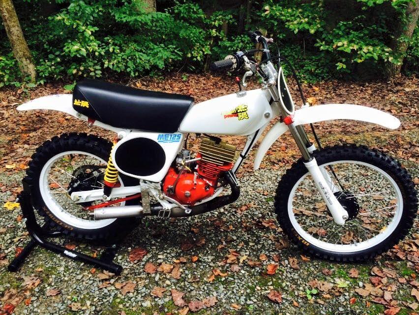 1976- Honda CR125 Mugen package racer | VINTAGE DIRT ...