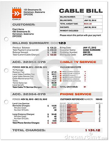 phone bill template juve cenitdelacabrera co