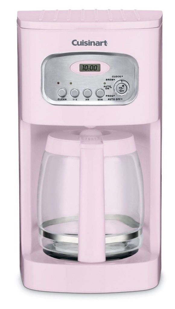 Retro Coffee Makers 7 Vintage Coffee Makers To Remind You Of The Colors Of Life Coffeesphere Pink Kitchen Appliances Pink Kitchen Cuisinart Coffee Maker
