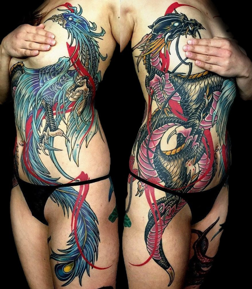 Japanese tattoos feb 27 frog tattoo on foot feb 25 japanese tattoo - Amsterdam Tattoo Artist Kimihito From Japan Specializes In Custom Japanese Brush Stroke And Irezumi Tattoos Inspired By Calligraphy And Sumi E Drawings