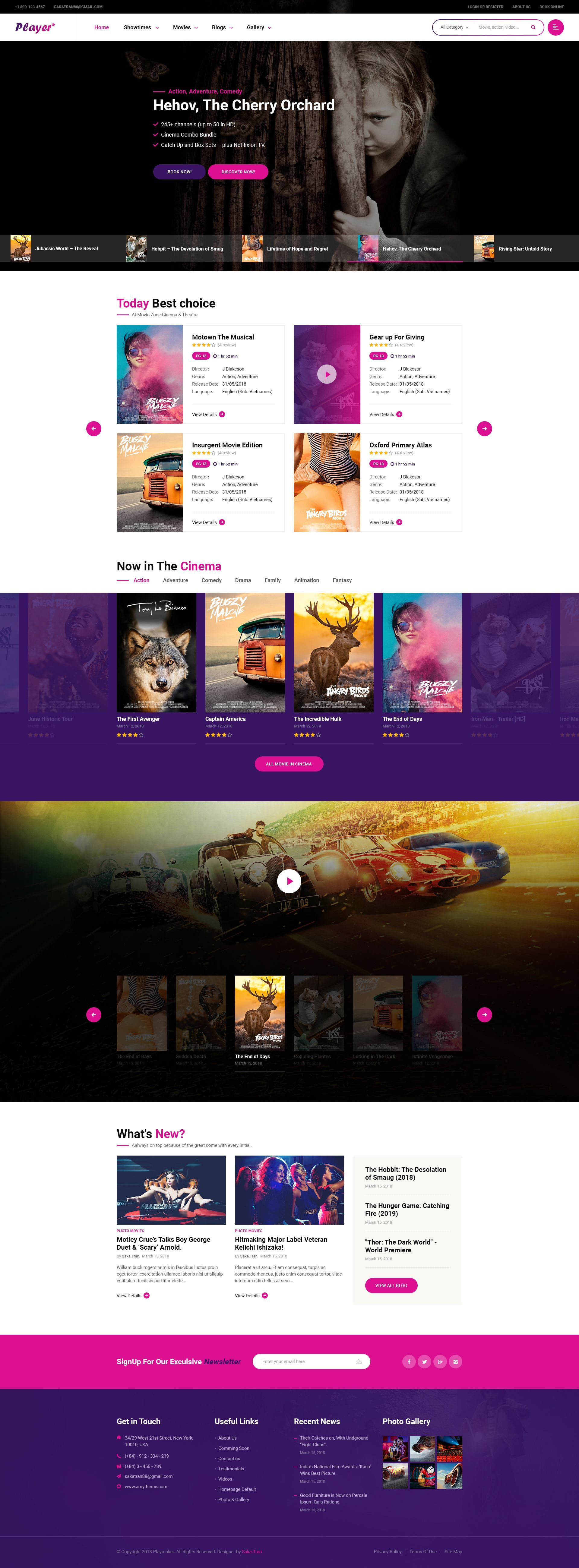Player Psd Template Tv Show Video Download Https