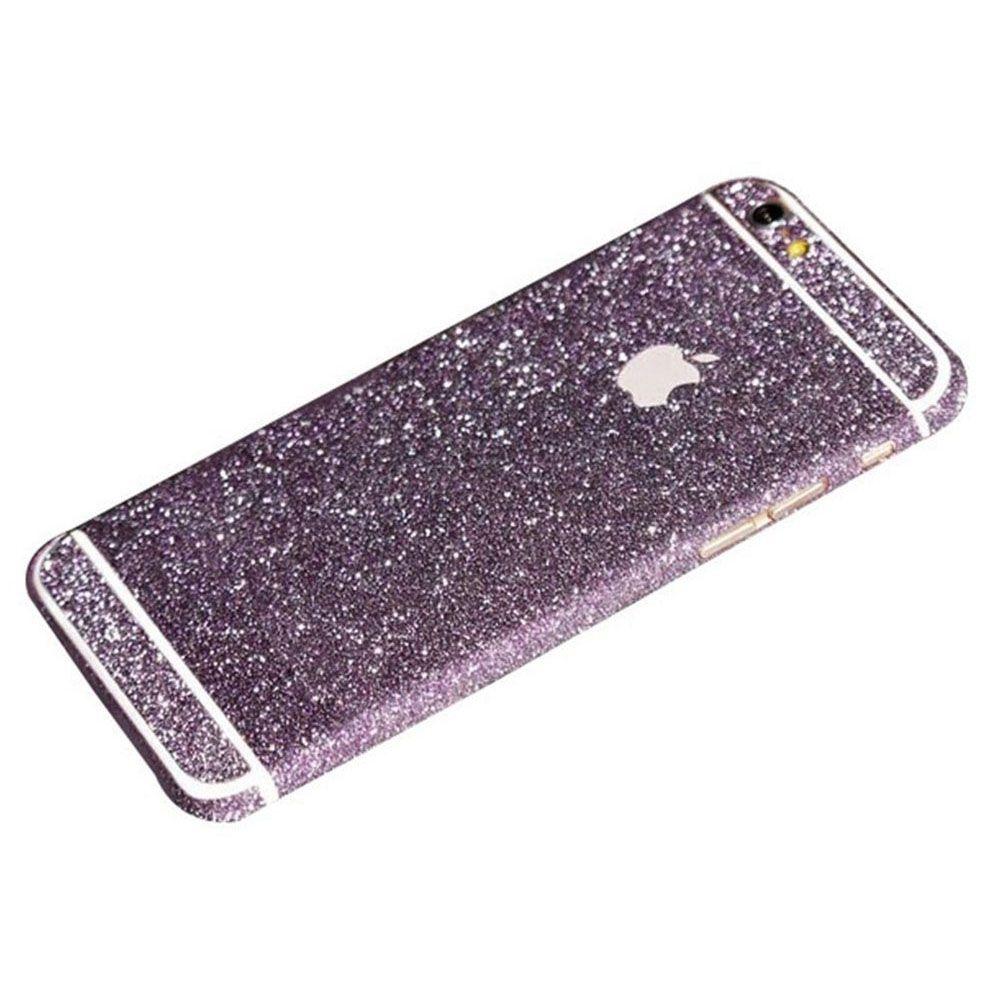 Purple Glittery Iphone 6 Plus 6s Plus Full Body Sticker Wrap Retailite Iphone Body Stickers Purple Iphone