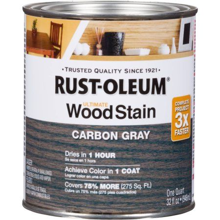 Rust Oleum Ultimate Wood Stain Quart Base