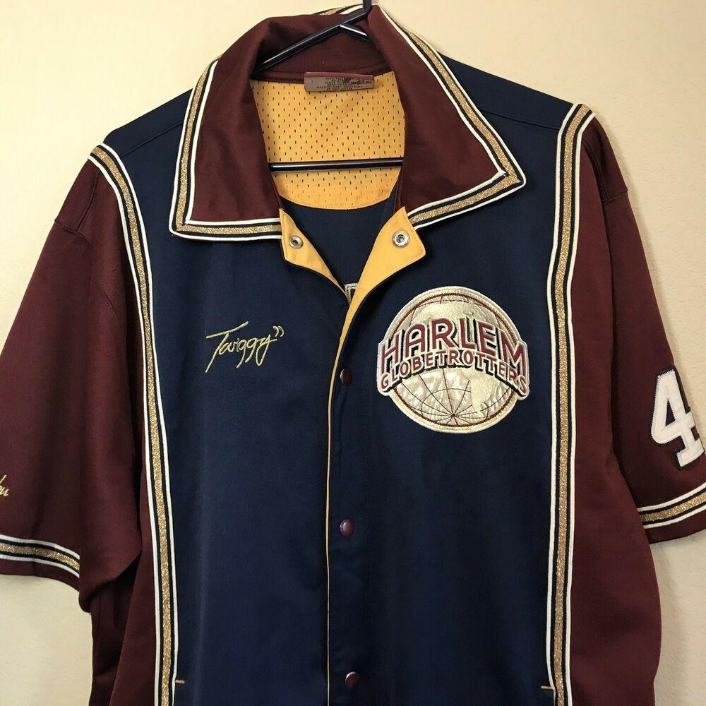 Harlem Globetrotters Men's Size XL 42 Twiggy Jersey Ltd